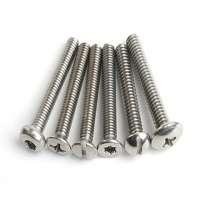 不锈钢机械螺丝 制造商