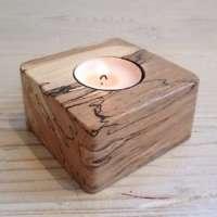 Wooden Tea Light Holder Manufacturers