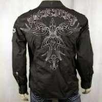 Embroidered Men Shirt Manufacturers