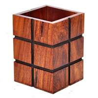 Wooden Pen Stand Manufacturers