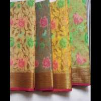Muslin Silk Saree Manufacturers