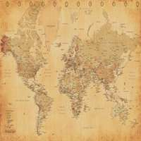 World Map Manufacturers
