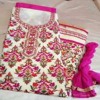 Cotton Embroidery Suit Manufacturers