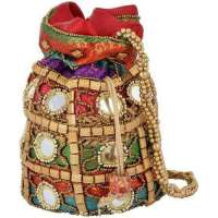 Embroidered Potli Bags Manufacturers