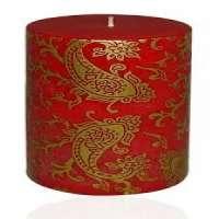 Printed Pillar Candle Manufacturers