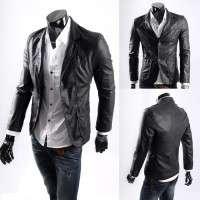 Mens Leather Blazer Manufacturers