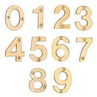 Brass Numerals Importers