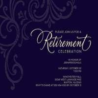 Retirement Invitations Manufacturers