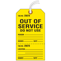 Warning Tags Manufacturers