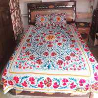 Embroidered Bed Sheets Manufacturers