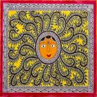 Madhubani绘画 制造商