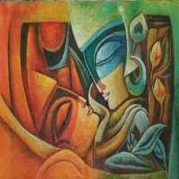 现代艺术绘画 制造商