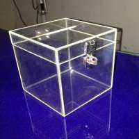 Acrylic Donation Box Manufacturers