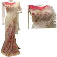 Sequins Work Saree Importers