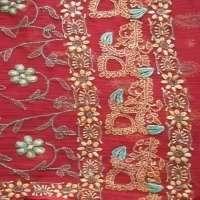 手绣的纱丽 制造商