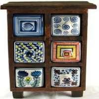 彩绘陶瓷抽屉 制造商