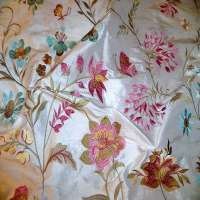 Embroidered Silk Importers