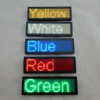 LED Name Badge Manufacturers