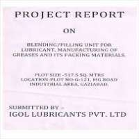 Industrial Project Reports Manufacturers