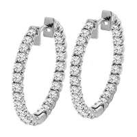 Diamond Hoop Earing Manufacturers
