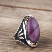 Silver Gemstone Ring Manufacturers