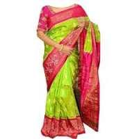 Pochampally丝绸纱丽 制造商