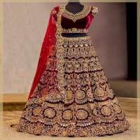 Embroidered Bridal Lehengas Importers
