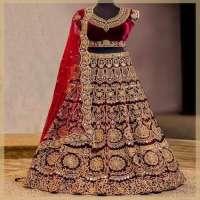 刺绣新娘Lehengas 制造商