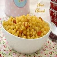 Sweet Boondi Manufacturers