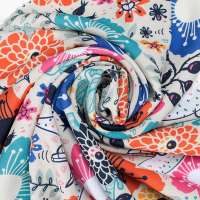 Printed Crepe Fabric Manufacturers