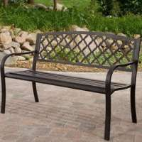 Wrought Iron Garden Benches Manufacturers