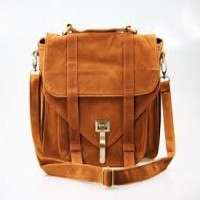 Suede Leather Bags Manufacturers