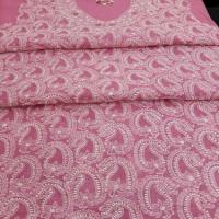 Chikan Dress Material Manufacturers