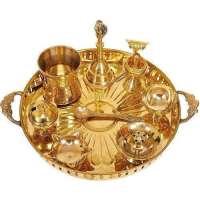 Brass Pooja Thalis Manufacturers