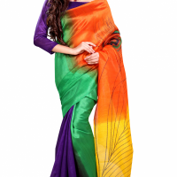 Bhagalpuri丝绸纱丽 制造商
