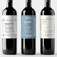 Wine Label Manufacturers