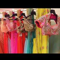 Mirror Work Saree Importers