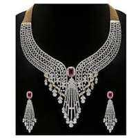 Artificial Diamond Necklace Manufacturers