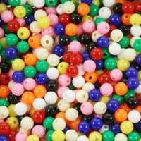 Colorful Plastic Beads Importers