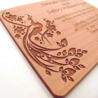 Wooden Wedding Cards Manufacturers