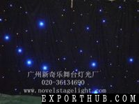 Led Star Clothled Vision Curtainled Starled Drape