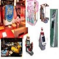 AMUSEMENT PHOTO STICKER AND ARCADE GAMES MACHINES