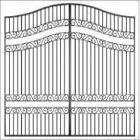 Wroug Iron Gate