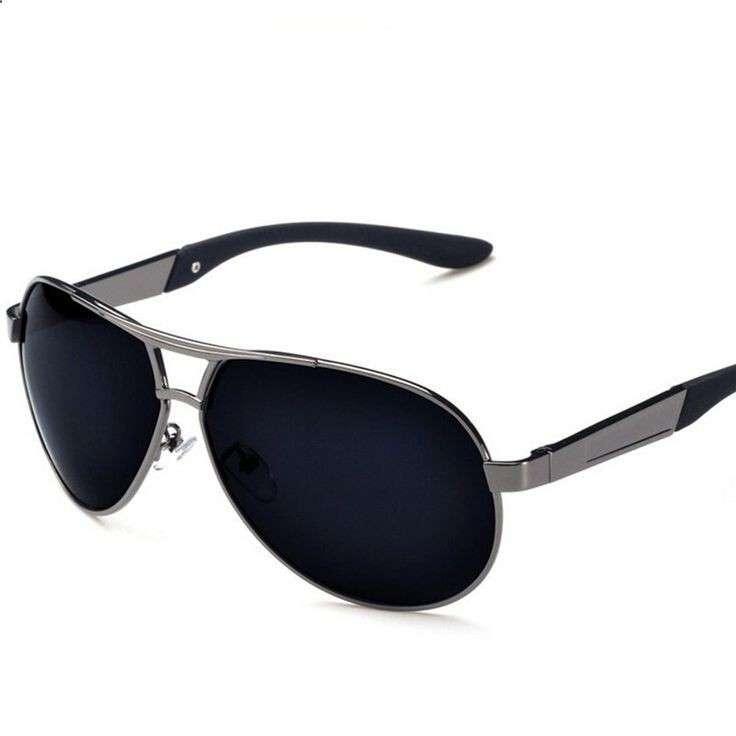 custom polarized metal sunglasses for men