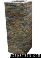Rusty Slate Culture Stone Column