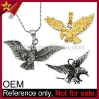 Customized German Gold Eagle Pendant