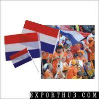 Netherland Hand Shaking Flag