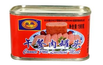340g罐装猪肉罐头猪肉午餐肉排肉猪肉