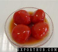 去皮的番茄
