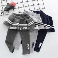 KS*0417C Kids Girls Autumn Legging School Pants Leggings Culottes